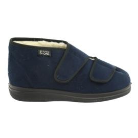 Navy Befado kvinders sko pu 986M010