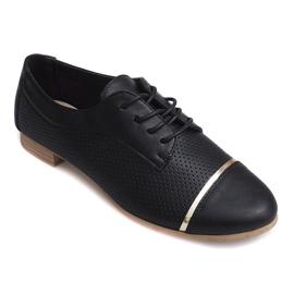 Openwork Jazz lave sko 6-154 sort