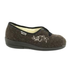 Brun Befado kvinders sko pu 940D356
