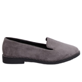 Grå Grey lords grey loafers N90 Grey