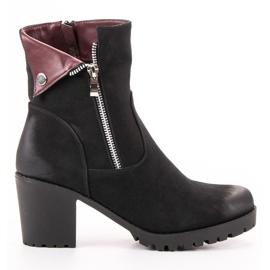 Sort VINCEZA støvler