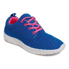 Blå Roshe RS18 Blue Sport Running Sneakers