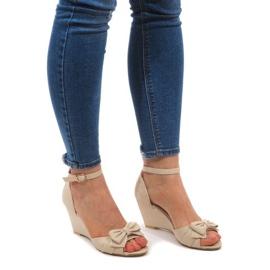 Kile sandaler F1-43 Beige brun