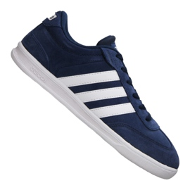 Navy Adidas Cross Court M B74444 sko