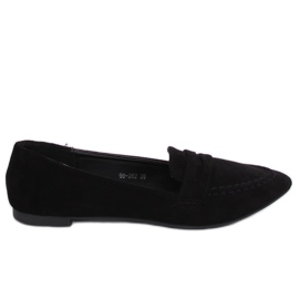 Sort kvinders loafers 99-262 Sort
