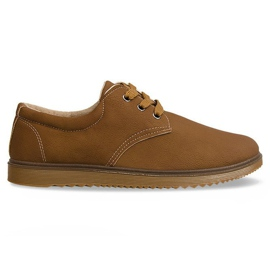 Klassiske sko støvler 1307 Camel brun