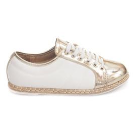 Lin Sneakers Espadrilles Q52 guld