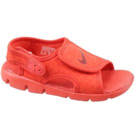 Rød Nike Sunray Justér 4 Ps Jr 386518-603 sandaler