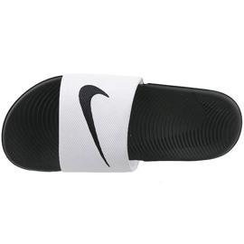 Nike Kawa Slide Gs / Ps 819352-100 hjemmesko hvid
