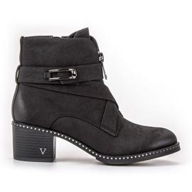 Vinceza Stilfulde ankelstøvler sort