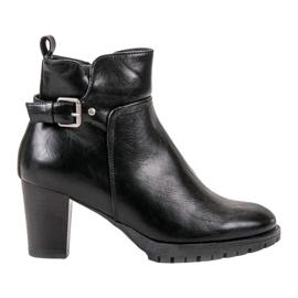 Vinceza sort Elegante efterårstøvler