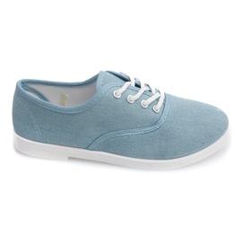 Blå Sneakers Low C91 Blue