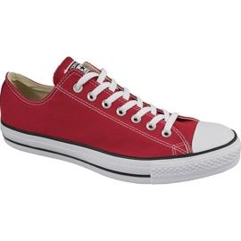 Rød Converse C. Taylor All Star Ox Optical Red M M9696 sko