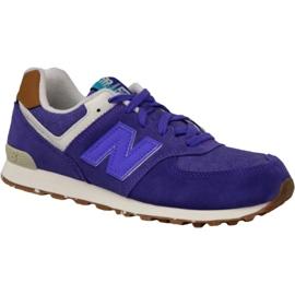 New Balance sko i KL574EUG lilla