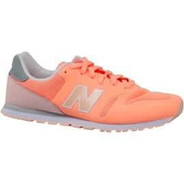 Appelsin New Balance sko i KD373CRY