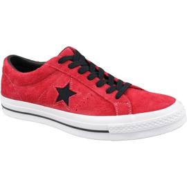 Converse One Star M 163246C sko rød