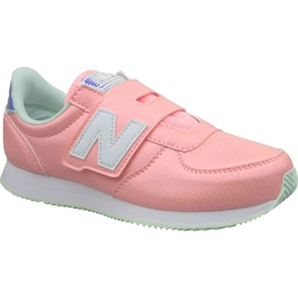 Pink New Balance Jr PV220M1 sko