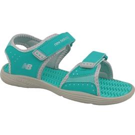 Grøn New Balance Jr K2004GRG sandaler blå