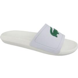 Hvid Lacoste Croco Slide 119 1 M hjemmesko 737CMA0018082