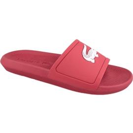 Rød Lacoste Croco Slide 119 1 M hjemmesko 737CMA001817K