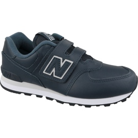 New Balance YV574ERV Jr sko marineblå
