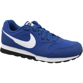 Nike Md Runner 2 Gs Jr 807316-411 sko blå