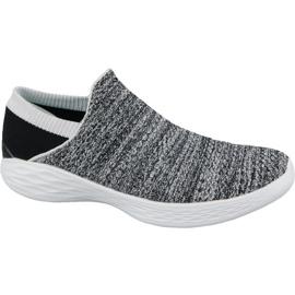 Skechers You W 14951-WBK sko grå