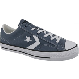 Blå Converse Player Star Ox M 160557C sko