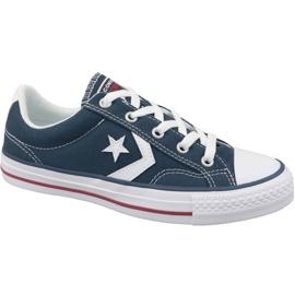 Navy Converse Star Player Ox U 144150C sko