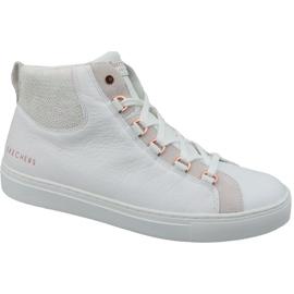 Skechers Side Street Core-Set Hi W 73581-WHT sko hvid