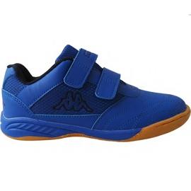 Blå Kappa Kickoff Oc Jr 260695K 6011 sko