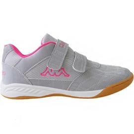 Grå Kappa Kickoff Jr 260509K 1522 sko