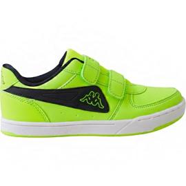 Grøn Kappa Trooper Light Ice Kids 260575K 3011 sko