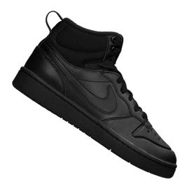 Nike Court Borough Mid 2 Boot (GS) Jr BQ5440-001 sort