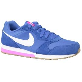 Blå Nike Md Runner 2 Gs W sko 807319-404