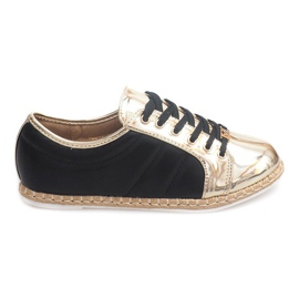 Lin Sneakers Espadrilles Q52 Sort