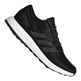 Sort Adidas PureBoost M CP9326 sko