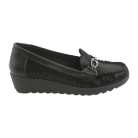 Wedge Moccasins Sergio Leone PB223 sort