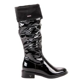 Lakkerede VINCEZA støvler sort