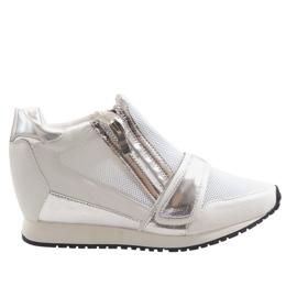 Moderne enkle sneakers SK48 hvid