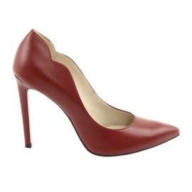 Anis 4376 røde pumper