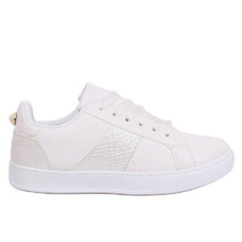 Hvide X93 Hvide kvinders sneakers