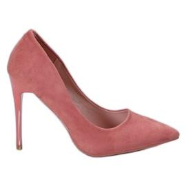 Cm Paris pink Suede Pins
