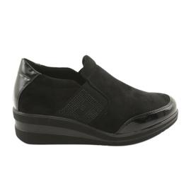 Sorte sko på kilen Sergio Leone 225