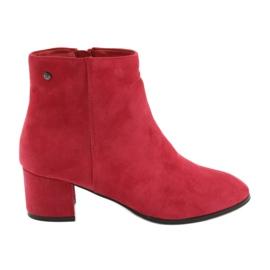 Filippo 316 ruskindstøvler rød