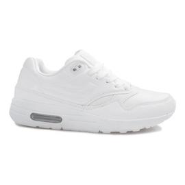 Hvid sports fodtøj
