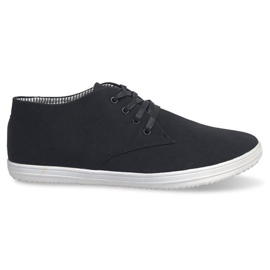 Trendy høje sneakers 3232 sort