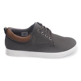 Casual herre-sneakers 655 grå