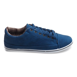 Trendy høje sneakers TL345 Navy