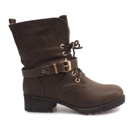Boots Workery 6616 Khaki grøn